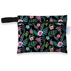 thirsties mini wetbag floribunda