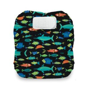 thirsties natural newborn all in one fish tales